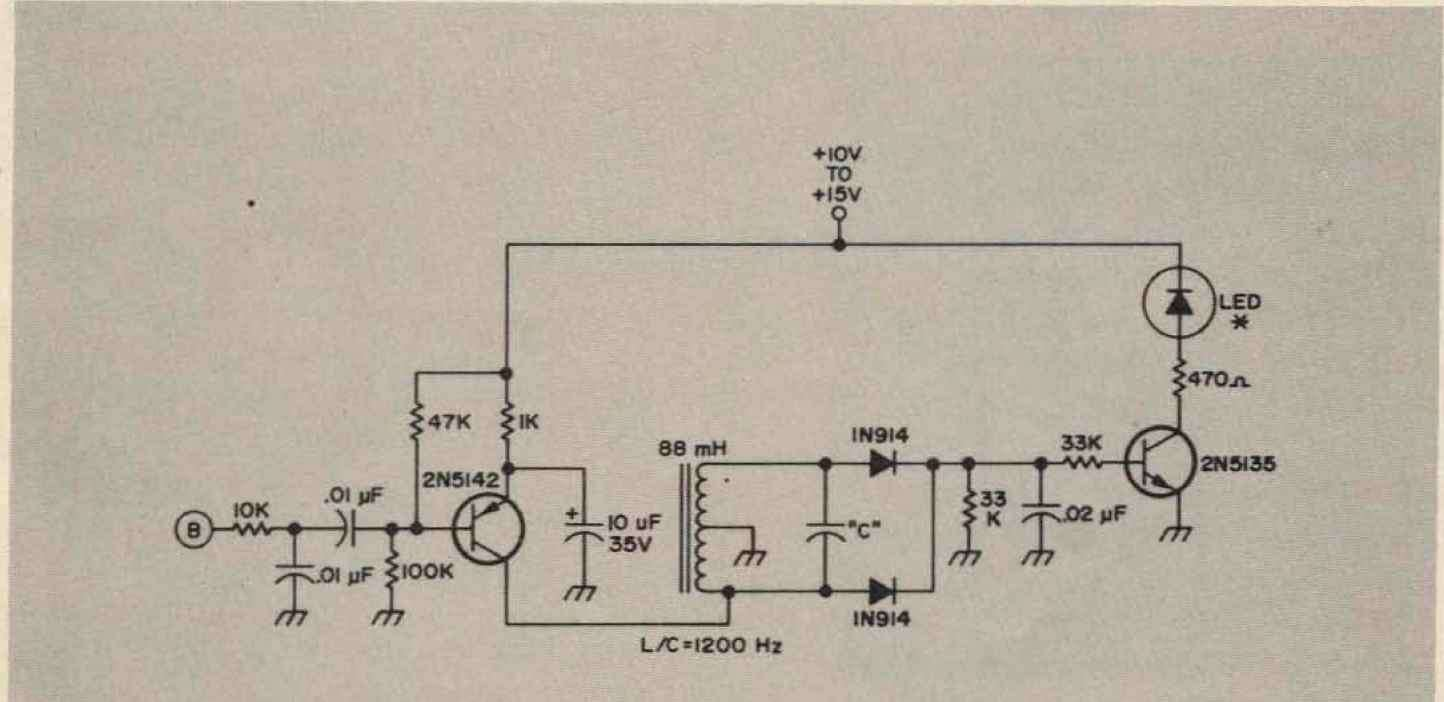 High Sensitive Tuner Schematic
