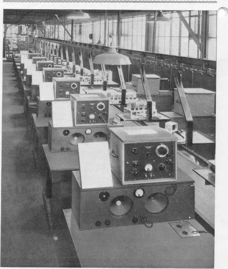 Radio Assembly Line