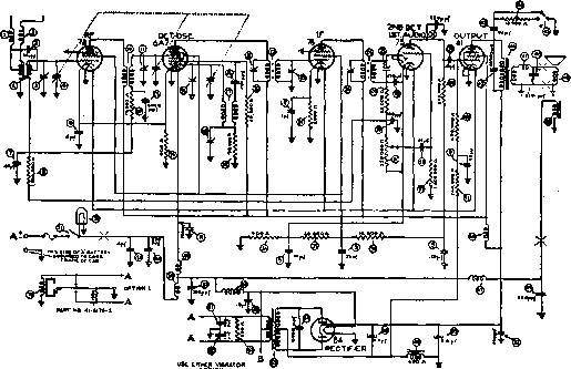 1974 Superheterodyne Receiver Schematic