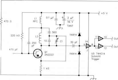 Synchronous Oscillator Schematic