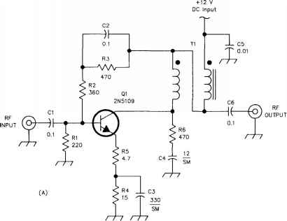 Bipolar Transistor Power Amplifier