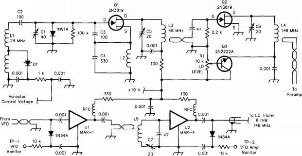 Sprague Filter Schematic Diagram
