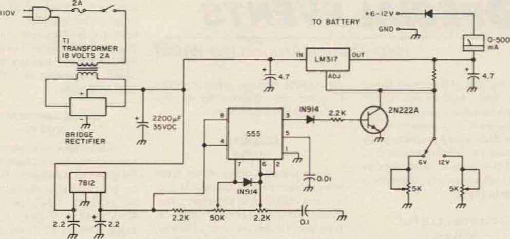 Volts Battery Charger Circuit Diagram