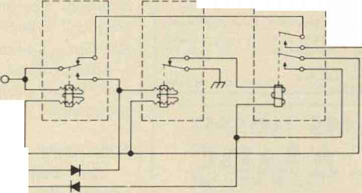 Push Talk Circuit For Radio