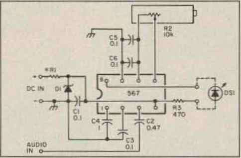 Lm567 Pitch Decoder