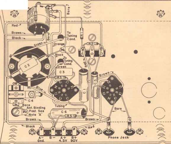 Regen Radio Circuits - Radio Circuit Diagrams - Amateur