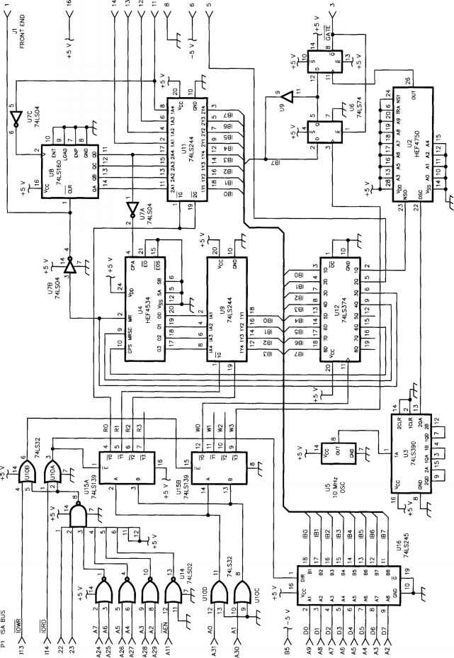 74ls374 circuit diagrams