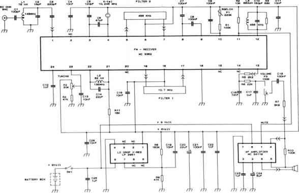 Mc3362 Schematic Radio Electronics 1991 04 Amateur