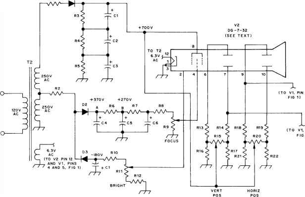 schematic of lcd oscilloscope auto electrical wiring diagram u2022 rh 6weeks co uk