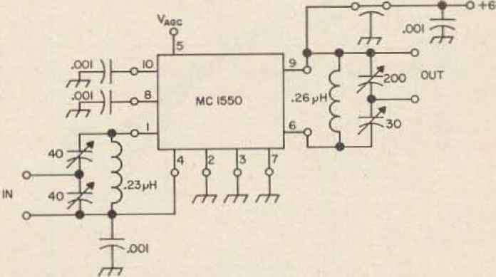 Integrated Circuit Agc